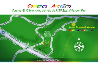 MAPA COMARCA ARCO IRIS flyer