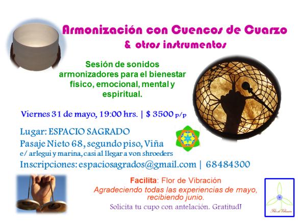 Armonización Grupal con Cuencos de CuarzoJUNIO