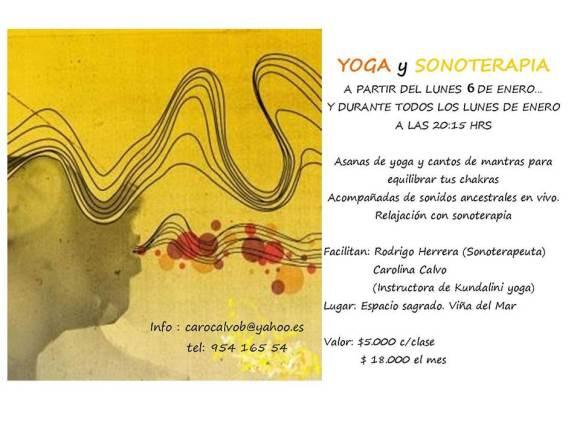 yoga y sonoterapia enero 2014